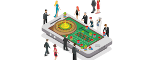 game room met meerdere spelers